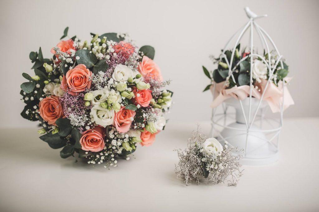 Vázaná kytice květinářství Rosemary